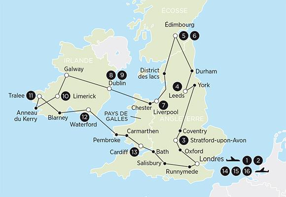 Circuit Angleterre, Irlande, voyage Ecosse   Voyagessuperprix